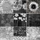 Quilt Square Collage III Kunstdrucke