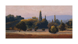 Roussillon Giclee Print by Kent Lovelace
