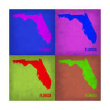 Florida Pop Art Map 1 Posters by  NaxArt
