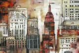 Urban Scene Poster
