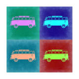 VW Bus Pop Art 2 Posters by  NaxArt
