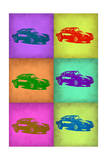 Porsche Pop Art 2 Photo by  NaxArt