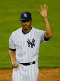 Sep 26, 2013 - New York, NY: Tampa Bay Rays v New York Yankees - Mariano Rivera Photographic Print by Mike Stobe