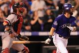 Sep 24, 2013 - Denver, CO: Boston Red Sox v Colorado Rockies Photographic Print by Doug Pensinger
