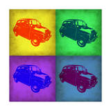 Fiat 500 Pop Art 1 Art by  NaxArt