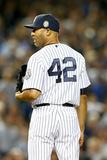 Sep 26, 2013 - New York, NY: Tampa Bay Rays v New York Yankees - Mariano Rivera Photographic Print by  Elsa