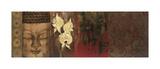 Buddha Orchid Giclee Print by Elizabeth Jardine