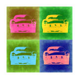 Ferrari Pop Art 3 Prints by  NaxArt