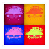 Alfa Romeo Pop Art 2 Poster by  NaxArt