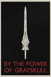By The Power of Grayskull Retro Poster Posters