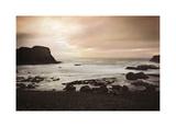 Yaquina Bay Giclée-tryk af John Rehner