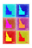 Idaho Pop Art Map 2 Posters by  NaxArt