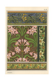 Jonquil, Narcissus Jonquilla, As Design Motif in Wallpaper And Fabric Patterns Giclee Print by Eugene Grasset