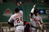 October 13, 2013 - Boston, MA: ALCS - Detroit Tigers v Boston Red Sox - Game Two Photographic Print by Jared Wickerham