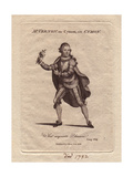 Joseph Vernon Holding a Rose, Wearing Cape, Ruff, And Knickerbockers As Cymon in Cymon Giclee Print
