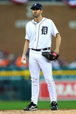 October 15, 2013 - Detroit, MI: ALCS - Boston Red Sox v Detroit Tigers - Game Three Photographic Print by Ronald Martinez