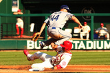 October 12, 2013 - St Louis, MO: NLCS - Los Angeles Dodgers v St Louis Cardinals - Game Two Photographic Print by  Elsa