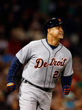 October 13, 2013 - Boston, MA: ALCS - Detroit Tigers v Boston Red Sox - Game Two Photographic Print by Jim Rogash