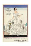 Mlle. B. Daussmon in the Role of Gisele in Les Vignes Du Seigneur From Art, Gout, Beaute 1923 Giclée-Druck