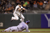 Sep 10, 2013 - San Francisco, CA: Colorado Rockies v San Francisco Giants Photographic Print by Thearon W. Henderson