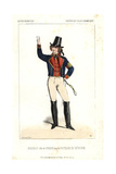 Boisselot As Cyprien in Les Postillons De Crevecoeur at the Folies Dramatiques Giclee Print by Alexandre Lacauchie