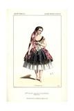Mlle. Rosati in Les Boucaniers at the Academie Imperiale Du Musique. B Giclee Print by Alexandre Lacauchie
