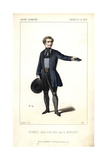 Deshayes in the Role of Jean-Paul in La Mendiante at the Theatre De La Gaite Giclee Print by Alexandre Lacauchie