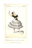 Marie Guy-Stephan in the Role of Katty in Le Lutin De La Vallee at the Theatre Lyrique Giclee Print by Alexandre Lacauchie