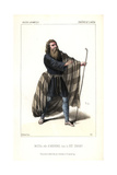 Massol in the Role of Absverus (Ashverus) From Le Juif Errant Giclee Print by Alexandre Lacauchie