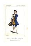 Charles Bataille As the Baron De Torrida in Marco Spada at the Opera Comique Giclee Print by Alexandre Lacauchie