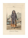 Woman of Fecamp. Like the Serre-tete of Le Havre Giclee Print