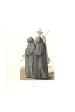 Mourning Habits, 17th Century, From the Funeral of Charles III, Duke of Lorraine Giclee Print by Edmond Lechevallier-Chevignard
