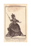 Mrs. Sophia Baddeley As Joan La Pucelle in Henry VI, Part 1 Giclee Print by James Roberts