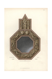 Metal Mirror Decorated with Angels And Hearts From the 14th Century Giclee Print by Jakob Heinrich Hefner-Alteneck