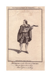 Mr. Joseph Vernon Playing a Lute As Thurio in Two Gentlemen of Verona Giclee Print by James Roberts