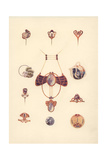 Austrian Art Nouveau Jewellery Giclee Print