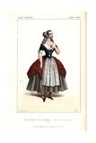 Mme. Guichard As Morielle in Le Roi Des Halles at the Theatre Lyrique Giclee Print by Alexandre Lacauchie