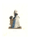 Young Woman And Small Boy, France, 18th Century, From a Print by Debucourt Giclee Print by Edmond Lechevallier-Chevignard
