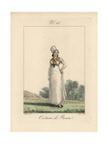 Woman of Rouen Wearing a Small Giclee Print