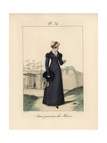Young Woman of the Port of Le Havre. She Wears a Bonnet That Rises To a Point Giclee Print