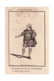 Richard Yates As Malvolio in Twelfth Night Giclee Print by James Roberts
