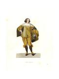 Italian Chamberlain, 17th Century Giclee Print by Edmond Lechevallier-Chevignard