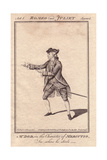 James William Dodd As Mercutio in Romeo And Juliet Giclee Print by J. Parkinson