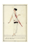 Costume Worn by Actress Blanche Montel From Art, Gout, Beaute 1923 Giclee Print