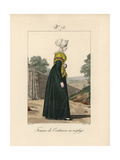 Woman of Coutances Giclee Print