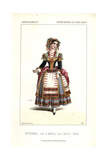 Mlle. Caroline Duprez As Angela in Marco Spada at the Opera Comique Giclee Print by Alexandre Lacauchie