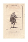 Thomas Hull As Pisanio in Cymbeline Giclee Print by J. Parkinson