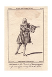 Francis Aickin As Bolingbroke in Richard II Giclee Print by Robert Dighton