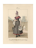 Young Girl of Varengeville Giclee Print