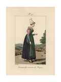 Servant From the Bayeux Area Giclee Print